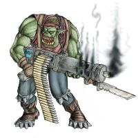 Ork - Shoota Boy by Taytonclait