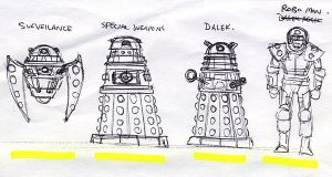 Dalek thumbnail sketch by DarkAngelDTB