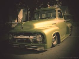 ford f-100 by sepiavision