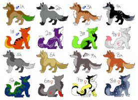 Large Page Adoptables: CLOSED by NewHopeRescue