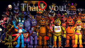 FNAF: Thank You Teaser What Confused People by BonnieMangle