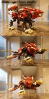 Zoids Blade Liger Leon Version Stock by IrishWolven