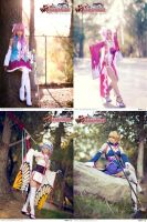 Web Koihime Musou Cosplay Event by nihilistique