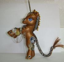 "MLP Custom ""Clockwork Legend"" by colorscapesart"