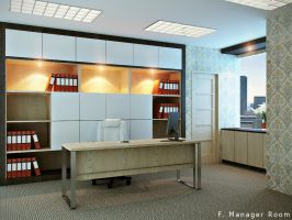 Office, manager room 02 by CallsterShade