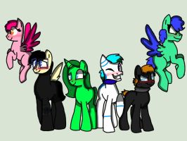 Mlp mane 6 (collab thingy) closed by Crystalpug