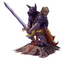 Hound Archon for Paizo by MichaelJaecks