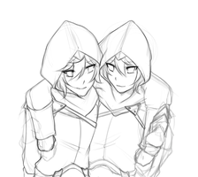assassin brothers by punipaws