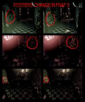 Posters change in FNAF3 by DrZombieFox