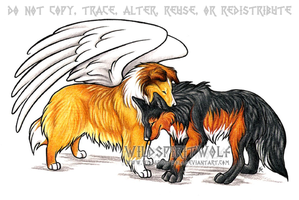 Always With You Commission by WildSpiritWolf