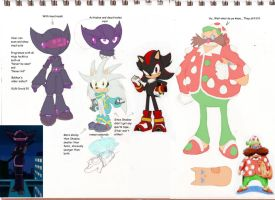 Redesigns - More Sonic by StrawberrySquirrel