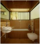 Bathroom in the woods by Anmar84