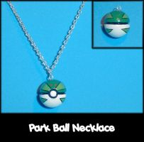 Park Ball Necklace Charm by YellerCrakka