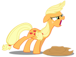 Applejack - Screaming and Yelling by CaliAzian