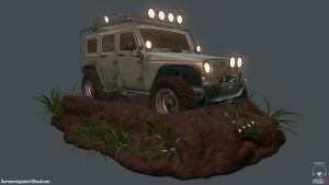 JeepWrangler_Front by DTHerculean