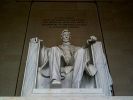 Lincoln Memorial by 44NATHAN