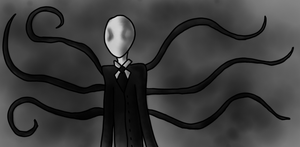 Slender man by Hekkoto