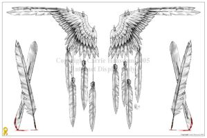 Wings - fashion by Aerin-Kayne
