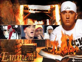 Eminem Wallpaper by Xtreme01
