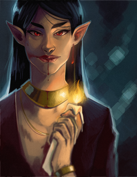 Candle Light by draiad