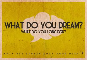 What do you dream? by Blugi