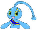 Manaphy, the Prince of Atlantis by Wanda92