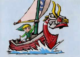 The Legend of Zelda: Wind Waker by Samipie