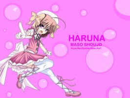 Haruna in MS Paint by Sheik4Link4Ever