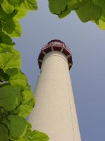 Cape May Lighthouse - An unusual View by OrioNebula