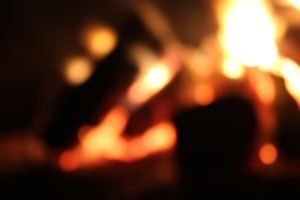 Bokeh Fire 2 by CAmpoo691