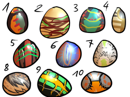 EGGS adopts ( 7/10 open ) by xSpickeyx