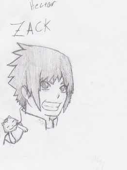 zack drawing by sephire25