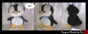 Penguin Plushie by apple-pai