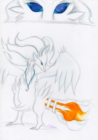 Blue Flare Necklace - Reshiram TF - page 3 of 3 by Luxianne