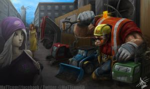 Construction Worker Yorick by MaTTcomGO