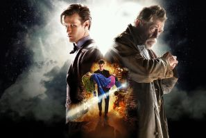 The Day Of The Doctor Wallpaper (Textless) by Gazdy