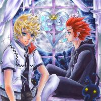 Kingdom Hearts by OoOoPitchBlackOoOo