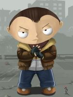 Stewie Bellic by IreneLaMagra