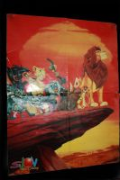 Lion king poster by Takadk