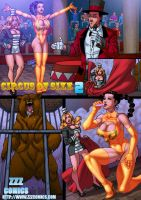 Circus of Size 2 preview 2 by zzzcomics