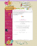 Cute Srap Free Layout Blogger by EvelynRegly