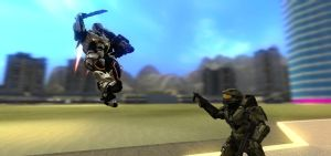 Halo vs Section 8 by Varia31