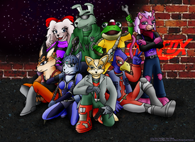 The Starfox Team by Kirbopher15