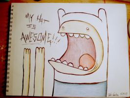 Finn's hat is awesome by SikkinDiVigil
