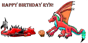 Birthday Picture for Ryn by Sakurarules