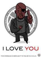 Nick Fury Loves YOU by tarunbanned