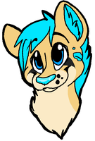 Leopard/Cheetah Character Starting Design by Sockune