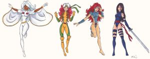 X-Babes In Color by jillybean200x