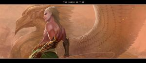 The Sands of Time: The God Light by IrenBee