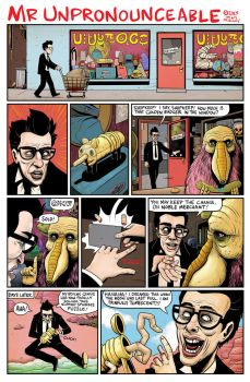 Mr Unpronounceable page. by timmolloy